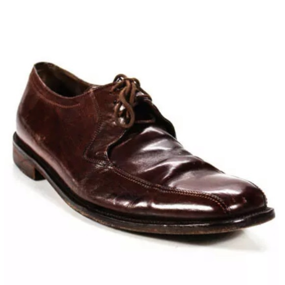 Johnston & Murphy Other - JOHNSTON & MURPHY BROWN SQUARE TOE SHOES SIZE 8.5